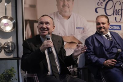 Clovis Tramontina e Erick Jacquin