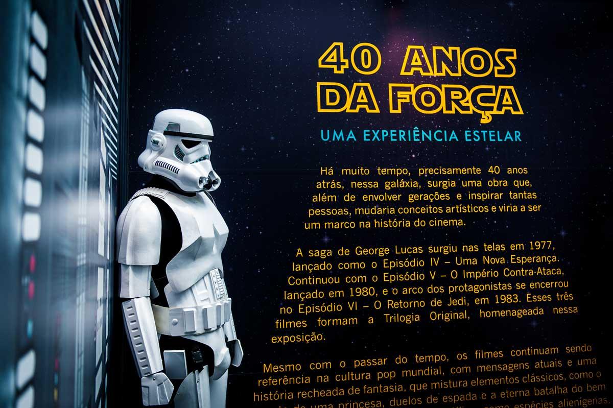 40 anos da Força, exposição no Iguatemi Porto Alegre