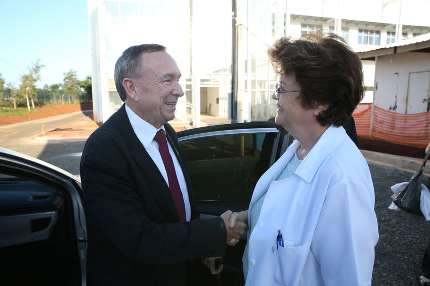 Clovis Tramontina e Silvia Brandalise