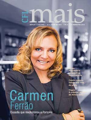CFL Mais com Carmen Ferrão na capa