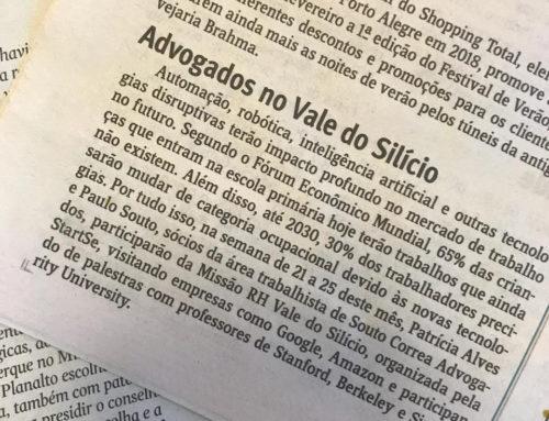 Advogados de Souto Correa viajam para o Vale do Silício